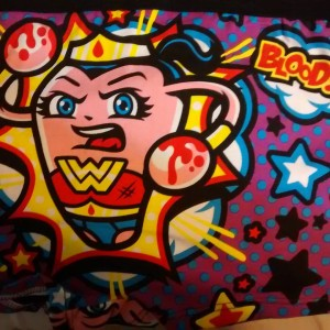 Wonder Womban Period Panties via Harebrained Designs